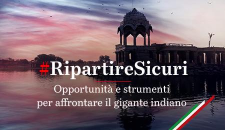 #RipartireSicuri India