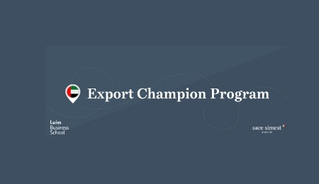 Export Champion Program 2020 emirati